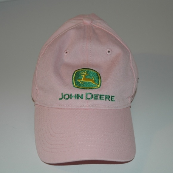 43011bd4 John Deere Accessories | Womens Pink Cap I Love Hat Adjustable ...